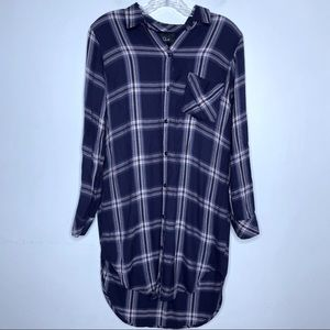 RAILS Plaid Patterned Button Up Relaxed Shirt
